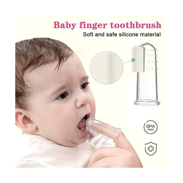 Kit per la Cura del Bambino Forbicine Neonati Kit Manicure Neonato Tagliaunghie Neonato Set Neonato Igiene per la cura… 4