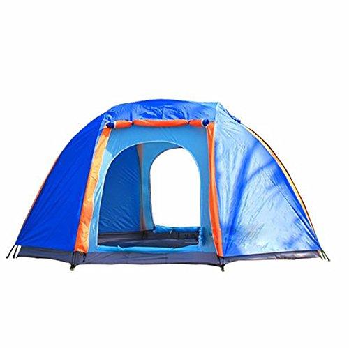 MCCMehr als Outdoor-Zelt gro?e achteckige Zelt camping Zelt Anti-Sturm Doppelt¨¹r Zelt