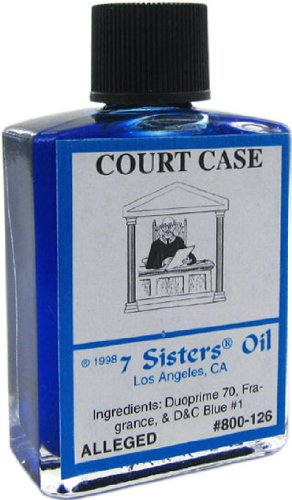Court Case Oil by 7 Sisters of New Orleans 1/2 fl. oz. (14.7ml)