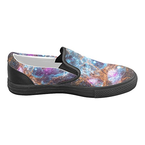 InterestPrint galaxy Slip-on Canvas Shoes for Men t1oxKNzw