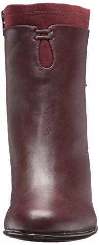 Women's Leading Combo Boot Aerosoles Ankle Role Wine pHqx5w