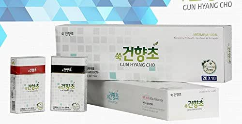 [2016 NEW] Natural Herbal Cigarette 1 carton (10 packs, 200sticks), Natural Artemisia 100%, No Tobacco, No Nicotine and No Chemicals for Health