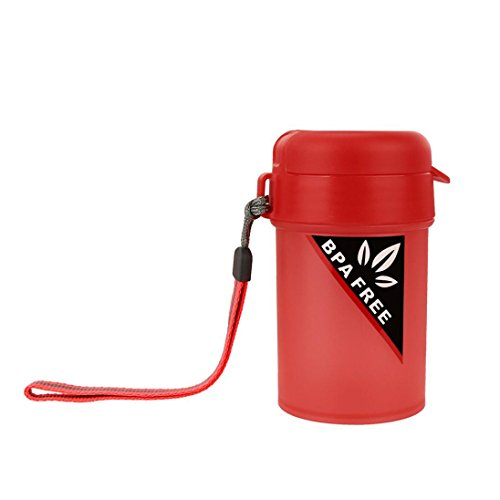 YJYDADA Portable Sports Water Bottle Plastic Water Cup Creat