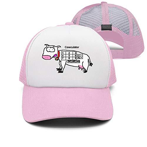Lskjohjds Funny Math cowculator golfFunny Math Cowculator Mens/Women's mesh Hat