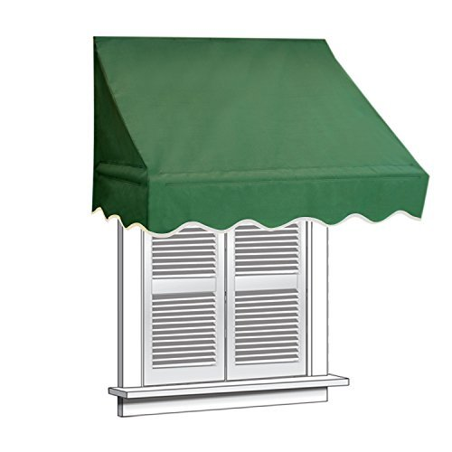 ALEKO WAW6X2GREEN39 Window Canopy