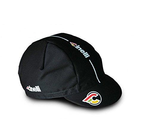 Cinelli única color Gorra Supercorsa talla para de Mütze negro hombre Negro ciclismo xqwxaBSrR
