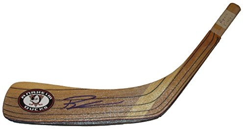 (Ryan Kesler Autographed Anaheim Ducks Logo Stick Blade W/PROOF, Picture of Ryan Signing For Us, Anaheim Ducks, Vancouver Canucks, Team USA, Stanley Cup)