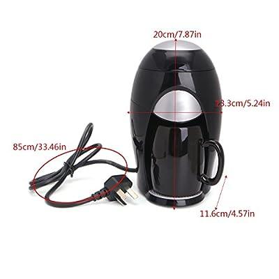 VT BigHome Mini Coffee Maker Machine Household Automatic Drip Type Single Cup Coffee Pot