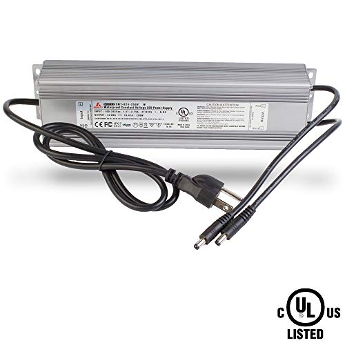 ower Supply 10.41A LED Driver Transformer 110v to DC Output for LED Strip, Under Cabinet, Puck, CCT Waterproof (250w Electronic Transformer)