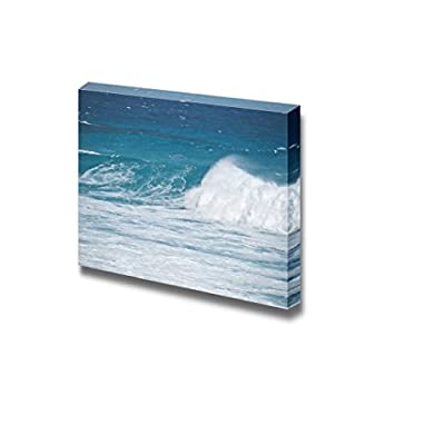 Beautiful Scenery Seascape Turquoise Blue Wave Breaking at Shore of Esperance Western Australia - Canvas Art Wall Art - 16