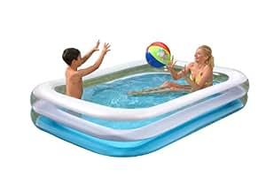 Wehncke 12246 jumbo piscina hinchable 262x175x50cm for Amazon piscinas infantiles