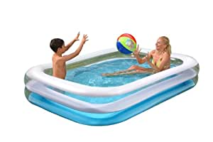 Wehncke 12246 jumbo piscina hinchable 262x175x50cm - Amazon piscinas hinchables ...