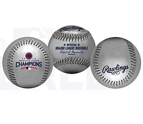 Cleveland Indians 2016 American League Champions Baseball - - Baseball Rawlings American League