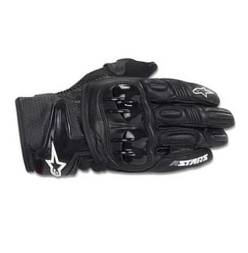Alpinestars GPX Leather Gloves - X-Large/Black/White