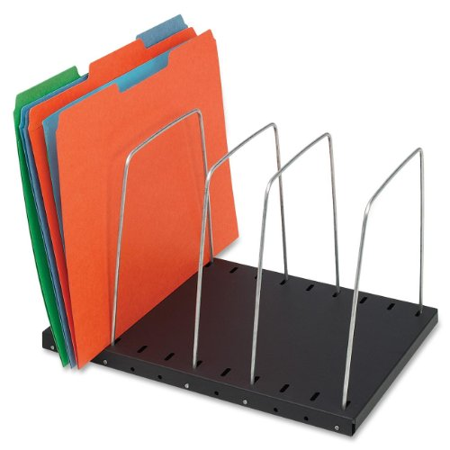 STEELMASTER Adjustable 4-Pocket Wire Organizer