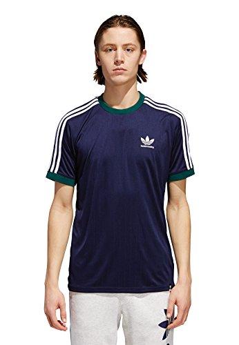 adidas Originals Herren T-Shirt Clima Club JERS CF5800 Dunkelblau