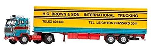 1/50 ボルボF89 チルトトレーラー `HG Brown Leighton Buzzard` CC15603