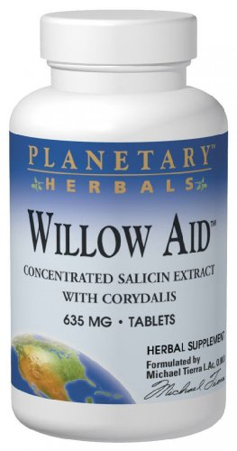 - Willow Aid, 60 Tabs