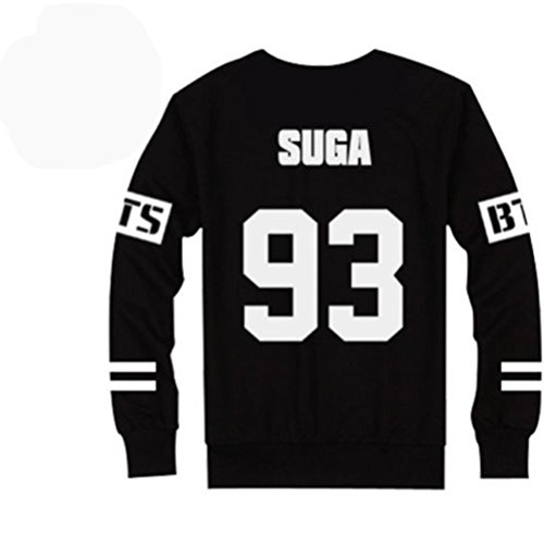 BTS Bangtan Boys Black Hoody Sweater Pullover