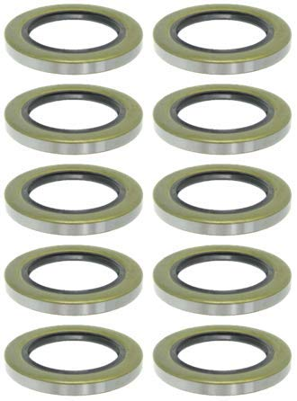 5 Pairs of Double Lip Grease Seal Trailer Axle