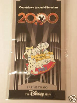 Disney Store/Countdown to the Millennium 2000-1001 - 1001 Store