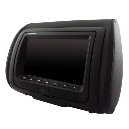 Vission AM-HDS7 7″ High Definition LED Dual Headrest with DVD/USB/SD and Video Game Entertainment System