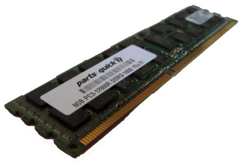 8GB DDR3 Memory Upgrade for HP Compaq ProLiant BL460c Gen8 (G8) Server PC3-12800 ECC Registered DIMM 240 pin 1600MHz RAM (PARTS-QUICK BRAND)