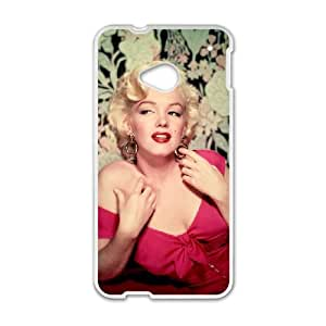 Marilyn Monroe HTC One M7 Cell Phone Case White I0452695