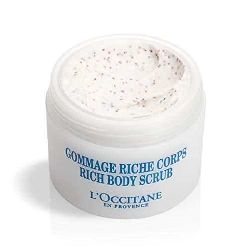 L Occitane Gentle Ultra-Rich Body Scrub with 10 Shea Butter, 7 oz.
