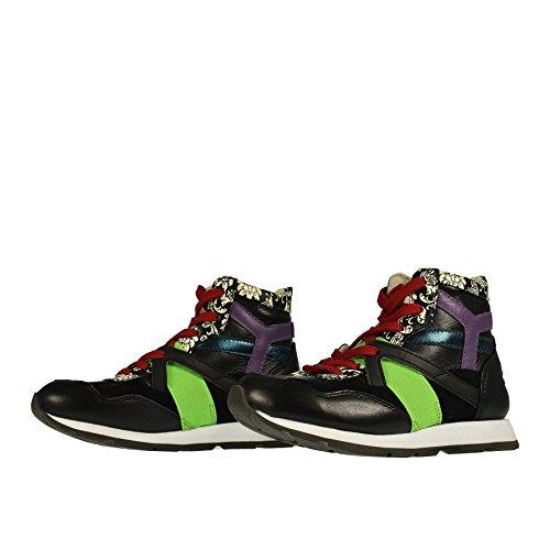 Dolce Nera amp; Sneaker 28 Multicolor Gabbana Alta rrPFp
