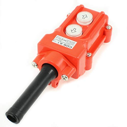 Mecion Rainproof Crane Pendant Control Station Hoist Crane Push Button Switch COB-61