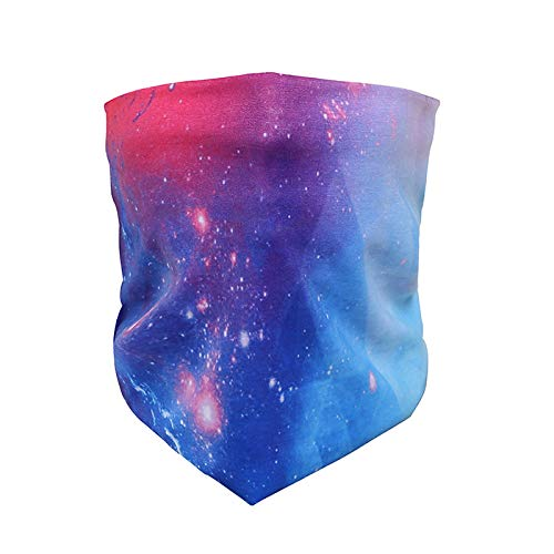 Humble Headbands Space Rave Face Mask Bandana Dust Protection Active Wear Galaxy Design