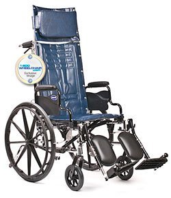 """New Invacare Tracer SX5 Recliner Wheelchair 16"""" Wide"""