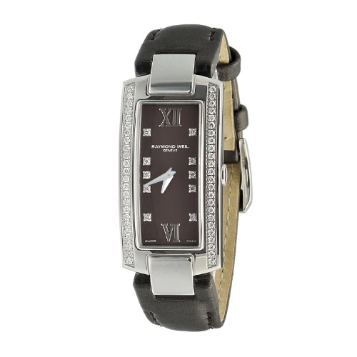 Raymond Weil Women's 1500-ST1-00775 Shine Stainless Steel Case & Bracelet Watch