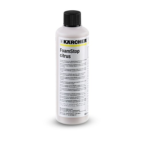 Kärcher Solution Anti-Mousse Senteur Agrumes 125 ml pour aspirateur sans sacs avec filtration par eau DS réf 6.295-874.0