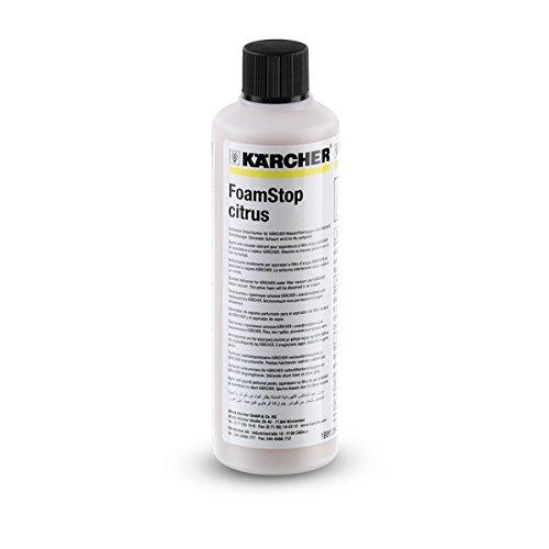 Kärcher Solution Anti-Mousse Senteur Agrumes 125 ml pour aspirateur sans sacs avec filtration par eau DS réf 6.295-874.0 6.295-608.0