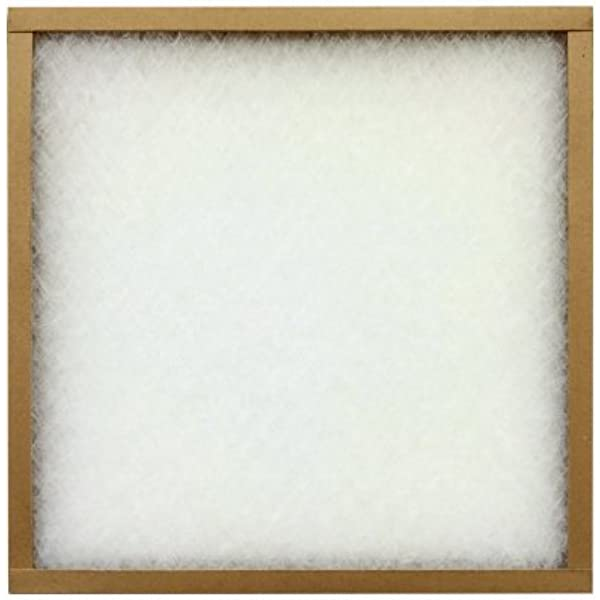 Precisionaire Furnace Air Filter 18 X 20 X 1 Fiberglass Amazon Com