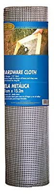 Mat Midwest Air Tech 308200B 36-Inch-by-50-Foot 1/2-Inch Mesh 19-Gauge Hardware Cloth by Mat Midwest