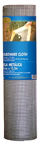 Mat Midwest Air Tech 308200B 36-Inch-by-50-Foot 1/2-Inch Mesh 19-Gauge Hardware Cloth