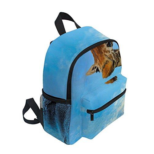 Pre Boy Funny Giraffe Kids Toddler Bag Kindergarten School ZZKKO Backpack Animal Girls for X6S6B