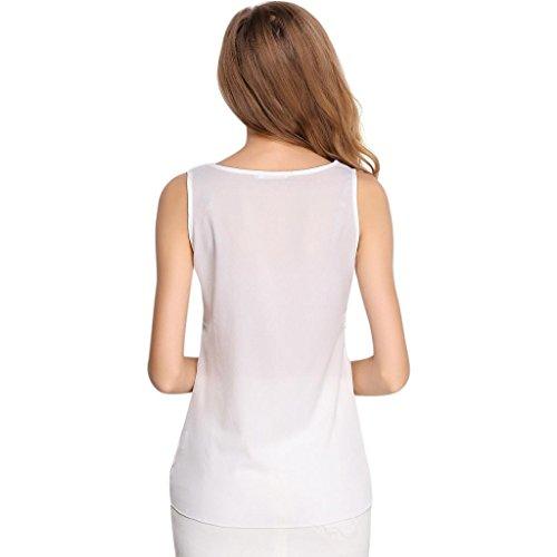 PRIAMS 7 - Camiseta sin mangas - para mujer blanco