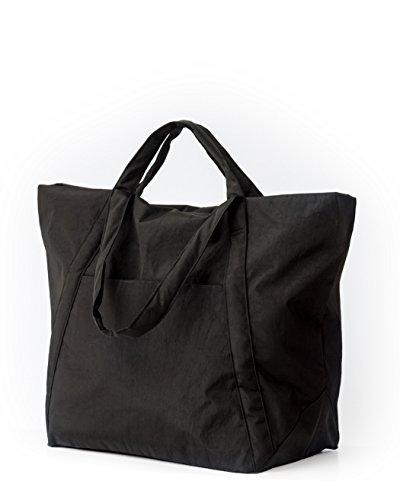 BAGGU Travel Cloud Bag, Lightweight Nylon Packable Tote for