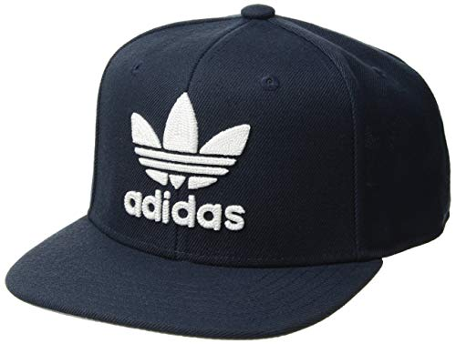 - adidas Boys / Youth Originals Trefoil Chain Snapback Cap, Collegiate Navy/White, One Size