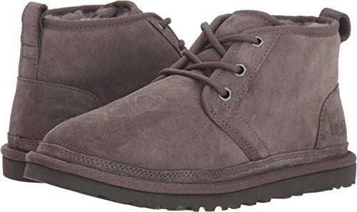 UGG Men's Neumel Charcoal Suede 8 D US (Ugg Classic Short Best Price)