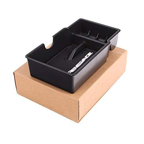 Center Console Glove Organizer Tray Armrest Storage Box for 2015 2016 2017 2018 Jeep Renegade Accessories