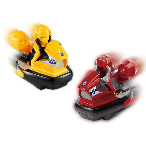 The Black Series Remote Controlled Speed Bumper Cars - Yello