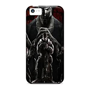 Iphone 5c LlU7815thFJ Allow Personal Design Vivid Gears Of War 3 Skin Protective Cell-phone Hard Cover -SherriFakhry