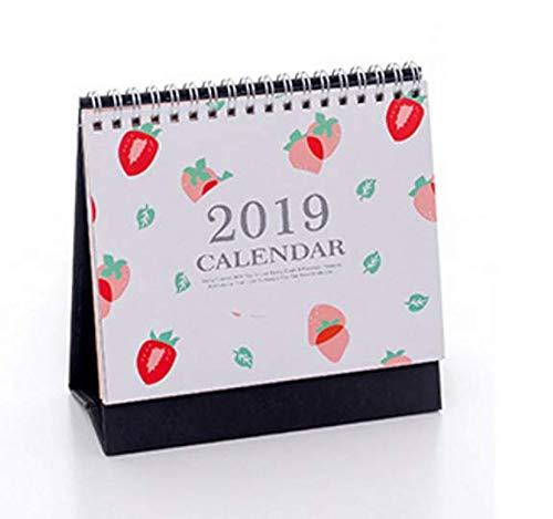 creative semplicità 2019calendario programma giornaliero calendario (fragola) Rosetreee