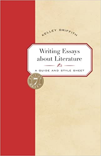 com writing essays about literature a guide and style  writing essays about literature a guide and style sheet 7th edition