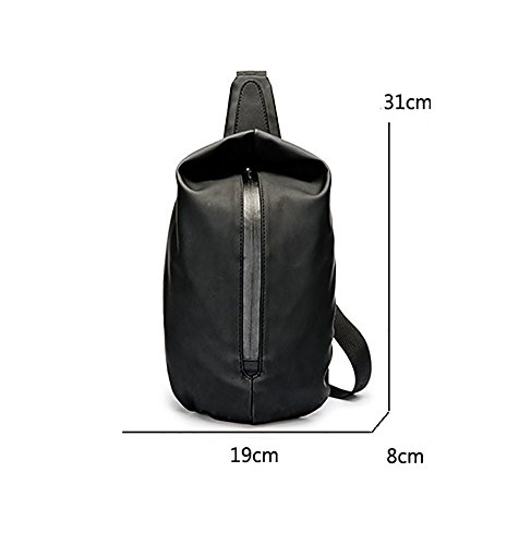 Cloth Bag Nylon Pocket Crossbody Sling Chest px0Fwqw7